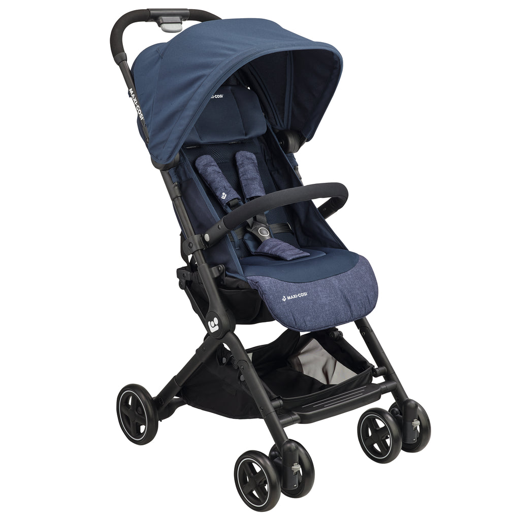 maxi-cosi lara rs ultracompact travel stroller nomad blue