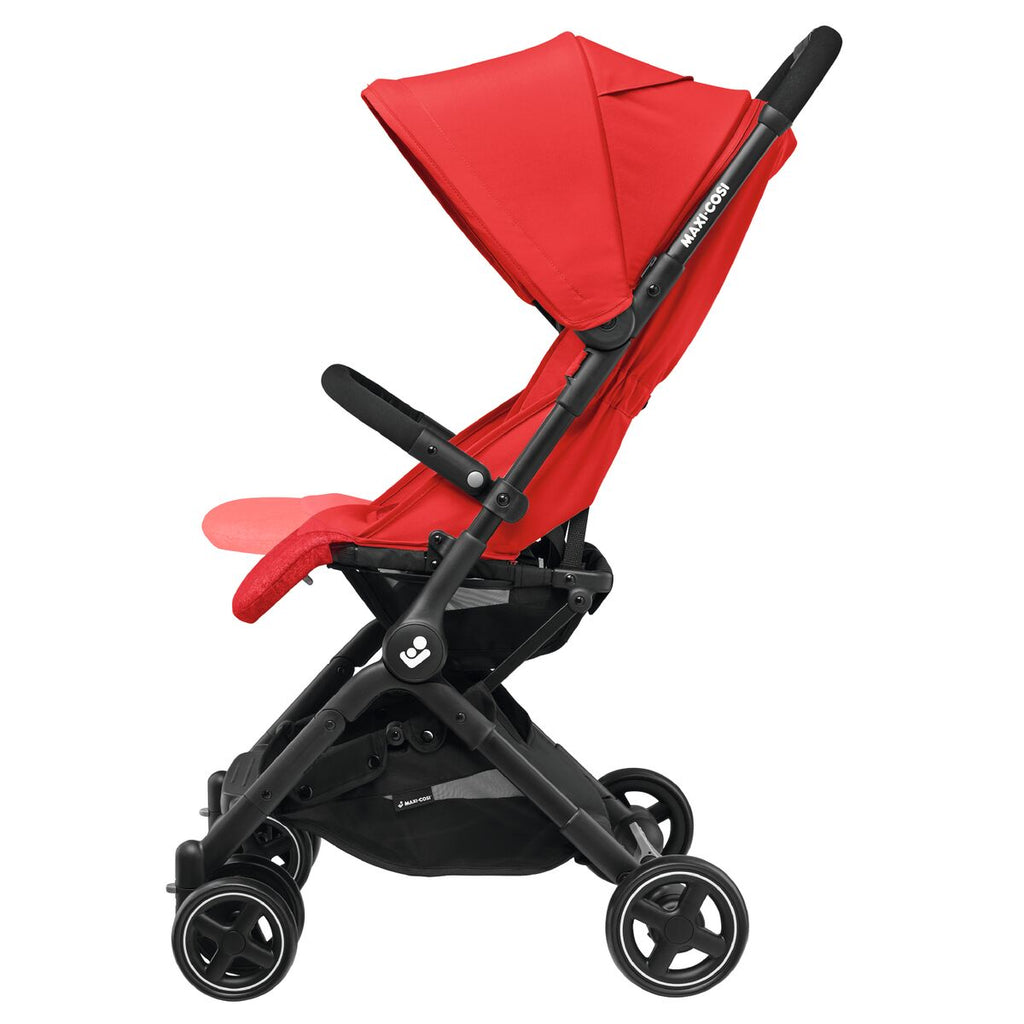 maxi-cosi lara rs ultracompact travel stroller footrest adjust