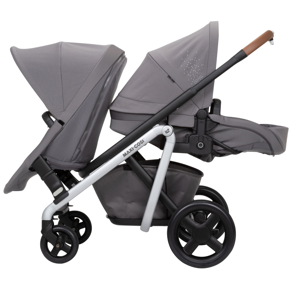 maxi-cosi lila stroller duo kit forward bassinet