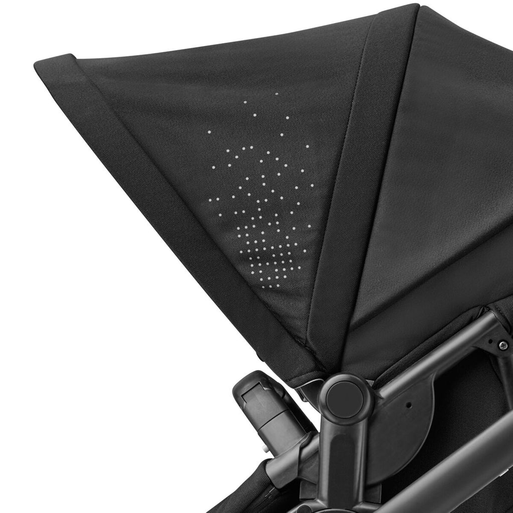 maxi-cosi lila stroller nomad black canopy