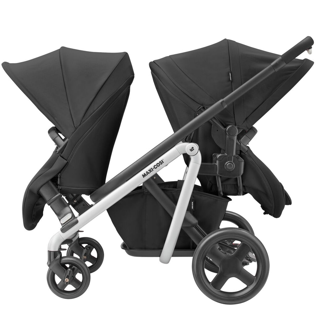 maxi-cosi lila stroller nomad black double