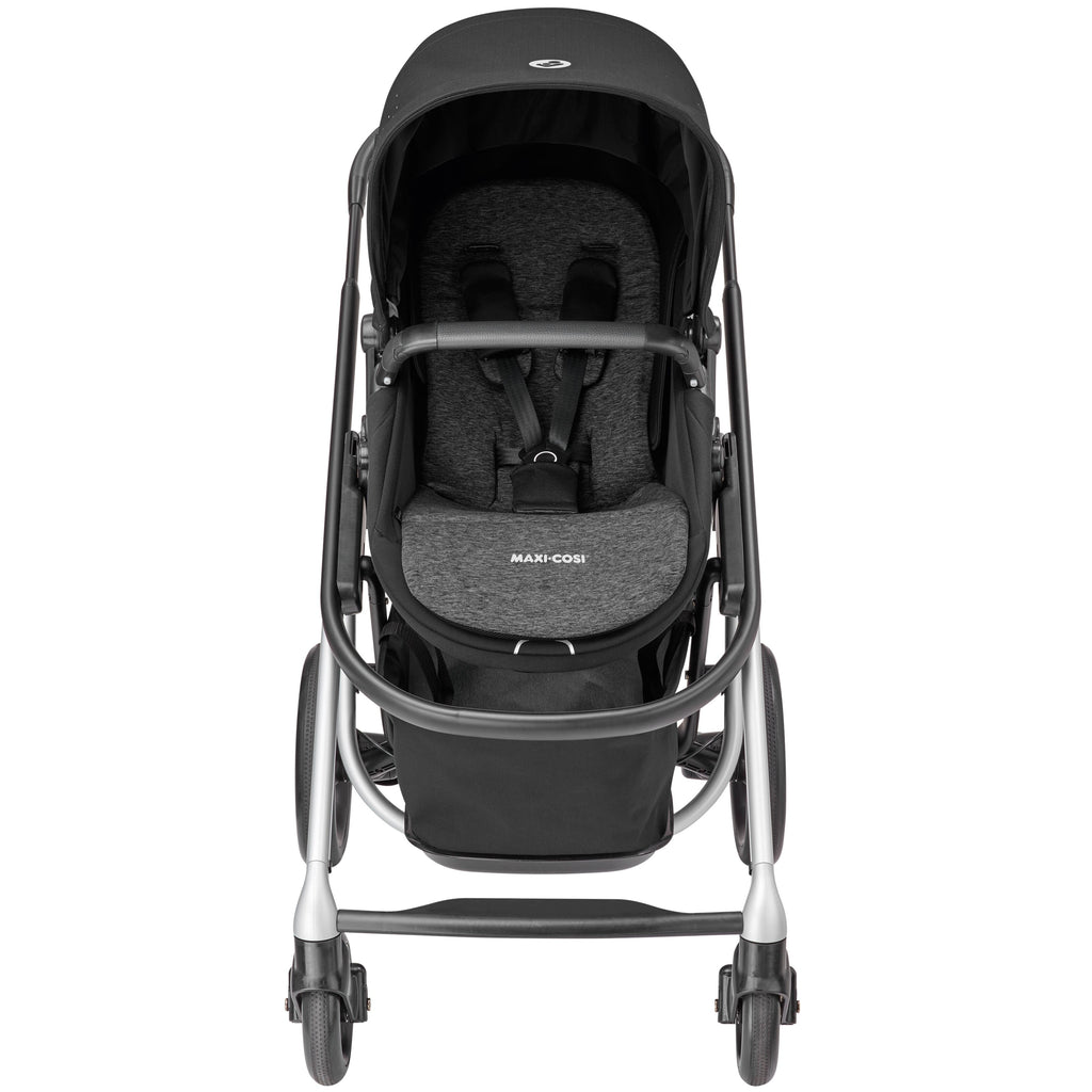 maxi-cosi lila stroller nomad black front