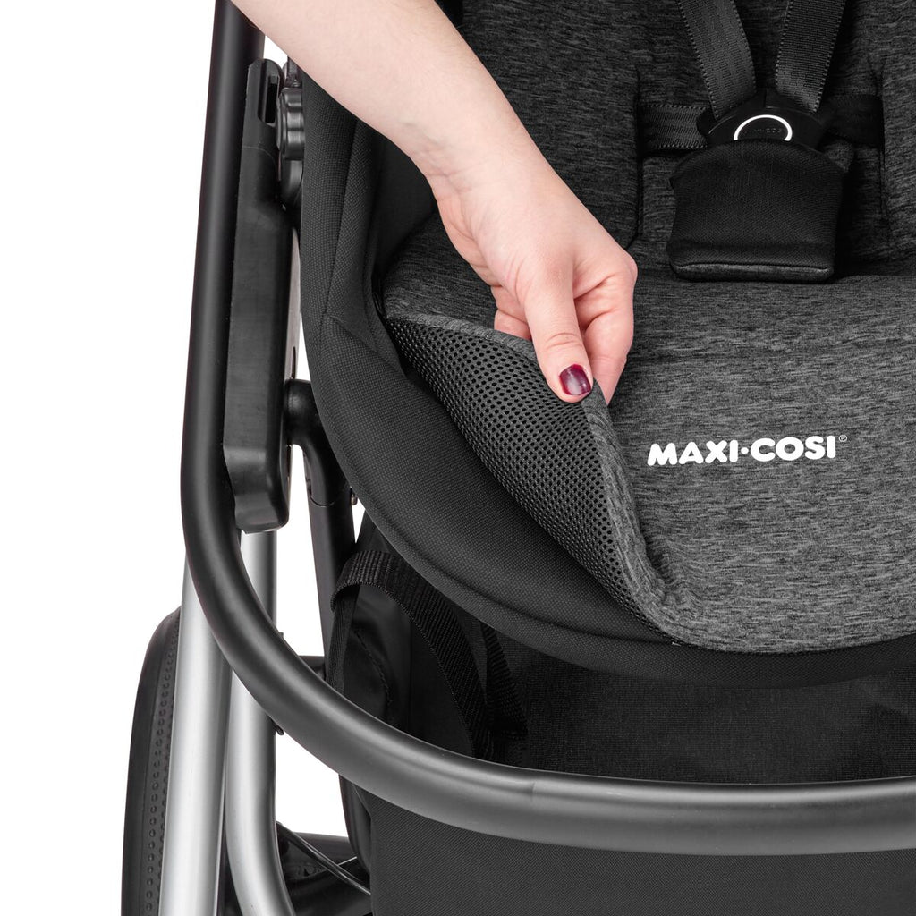 maxi-cosi lila stroller nomad black reversible liner