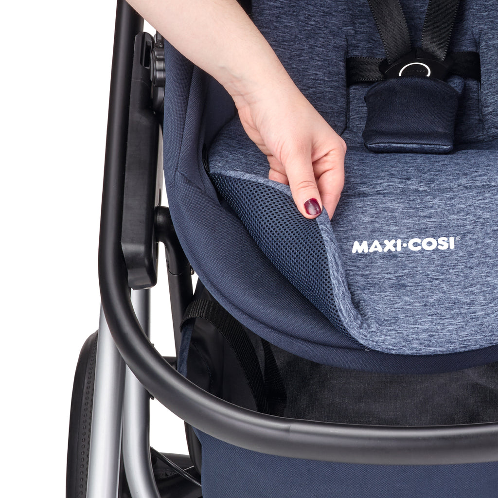 maxi-cosi lila stroller nomad blue reversible liner