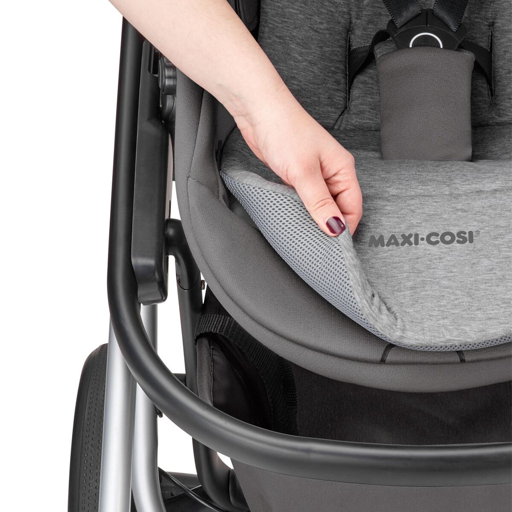 maxi-cosi lila stroller nomad grey reversible liner