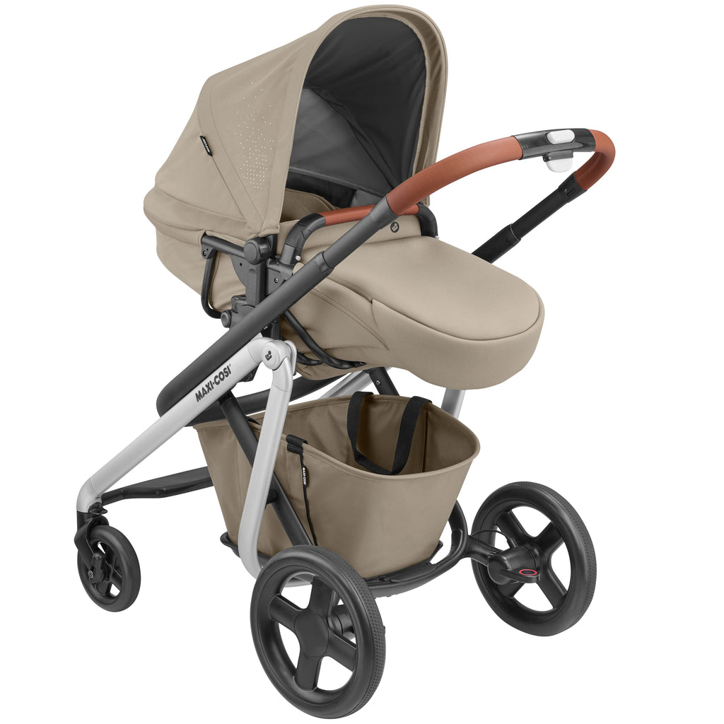 maxi-cosi lila stroller nomad sand bassinet