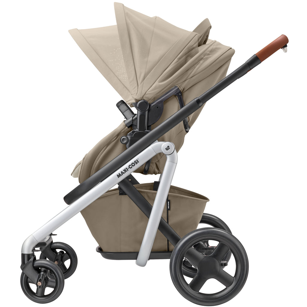 maxi-cosi lila stroller nomad sand canopy adjust