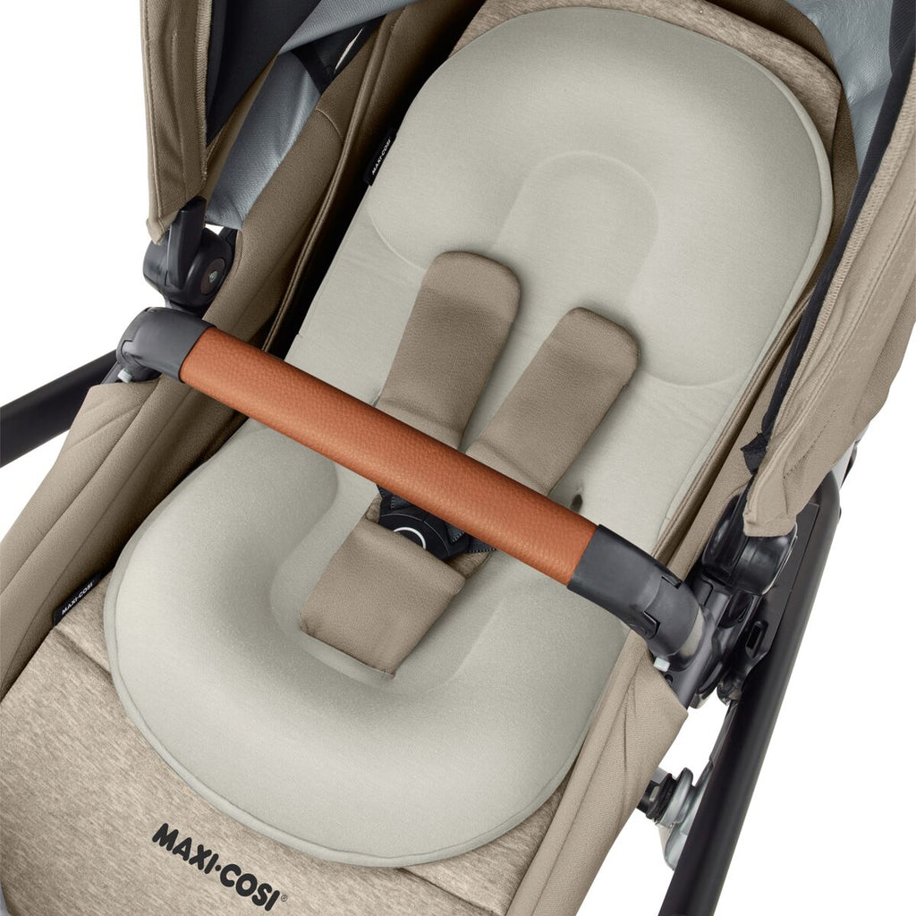 maxi-cosi lila stroller nomad sand infant insert