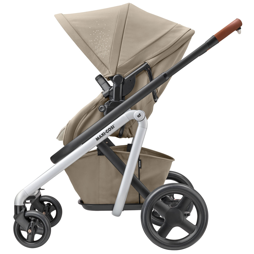 maxi-cosi lila stroller nomad sand side