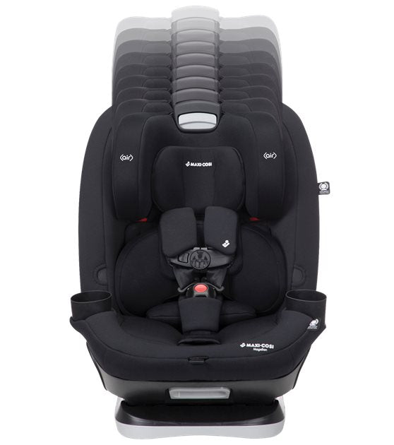 maxi-cosi magellan 5-in-1 convertible car seat head rest move