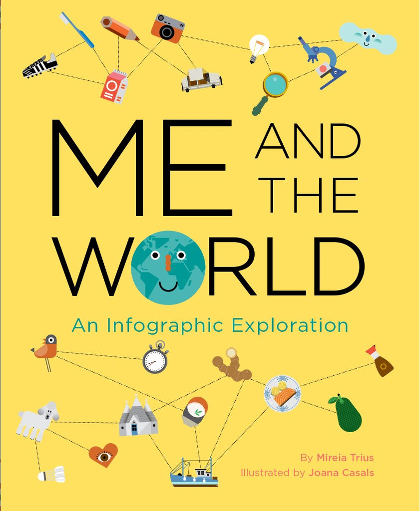 Me and the World: An Infographic Exploration by Mireia Trius & Joana Casals
