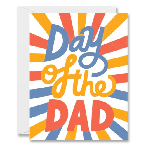 Day of the Dad Card