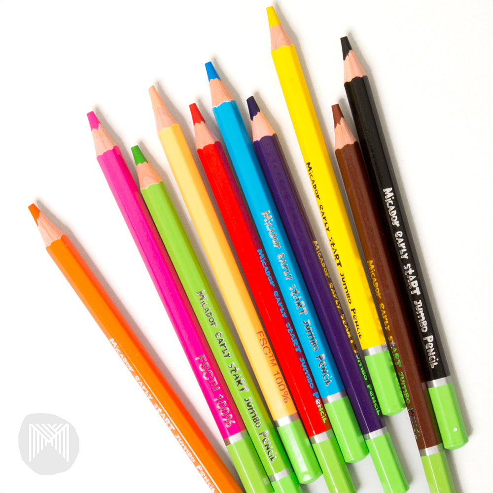 early stART Jumbo Pencils (Pack of 10)