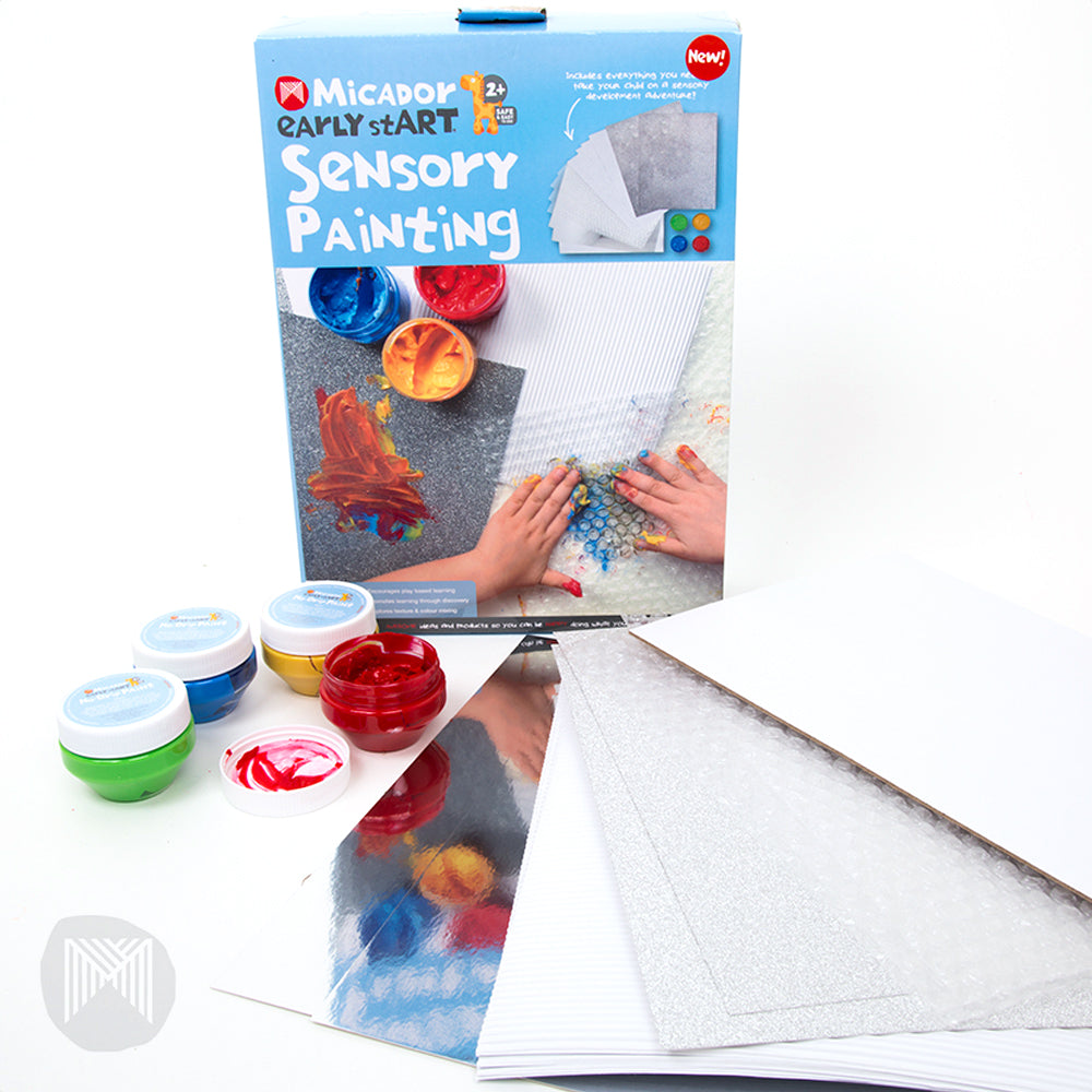 early stART Sensory Painting Pack