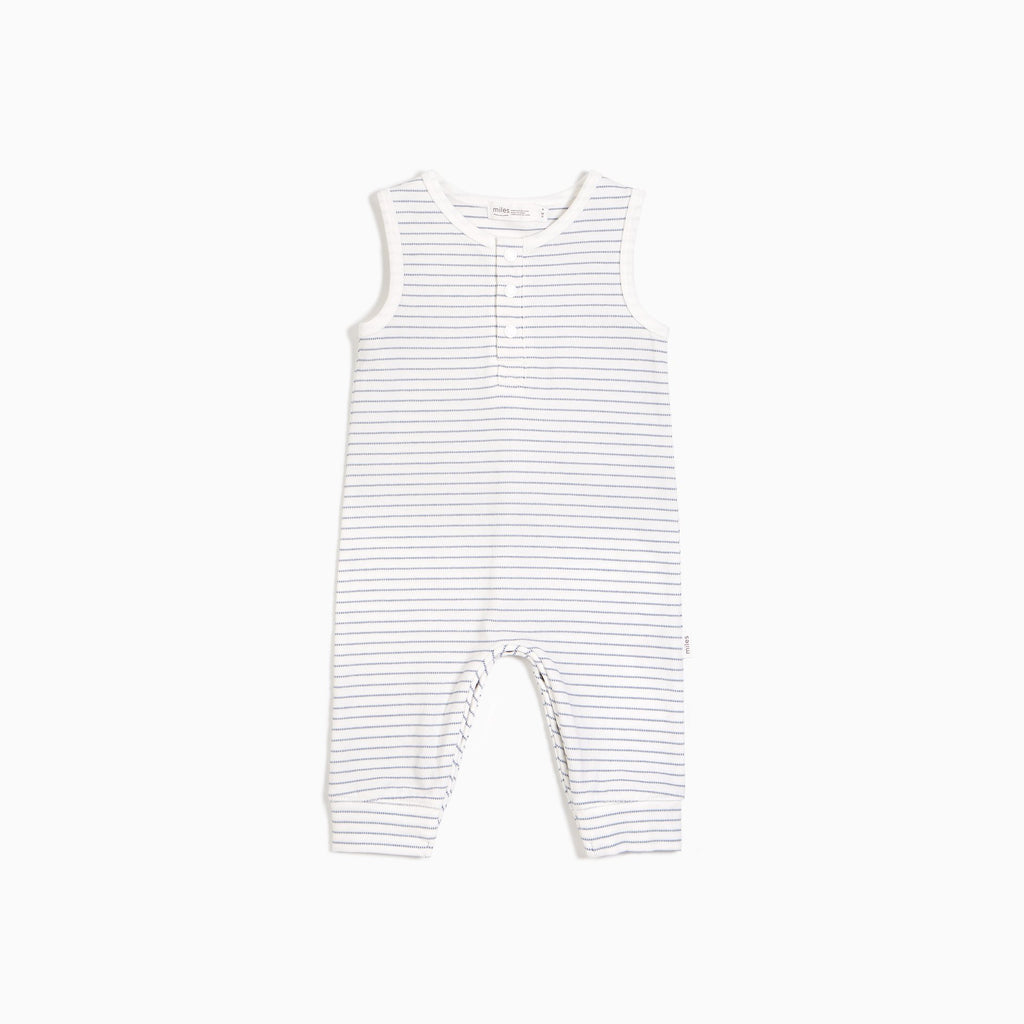 Sleeveless Candy Sky Striped Playsuit