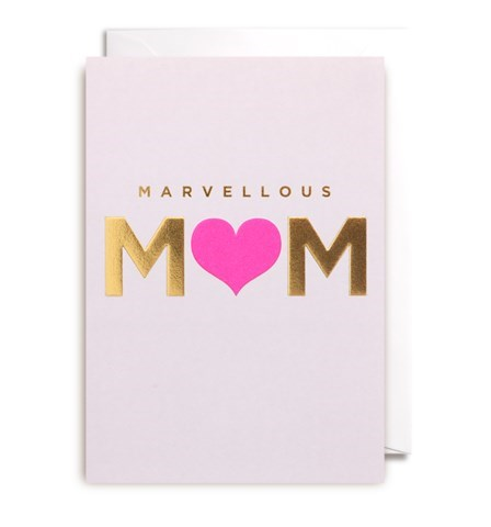Marvellous Mom Card