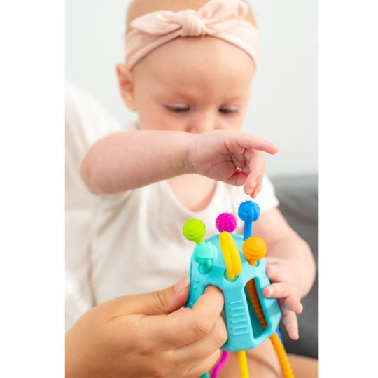 Zippee Silicone Activity Toy