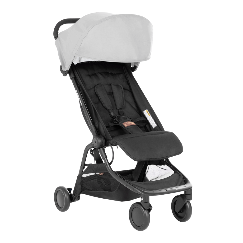 mountain buggy nano v3 2020 silver