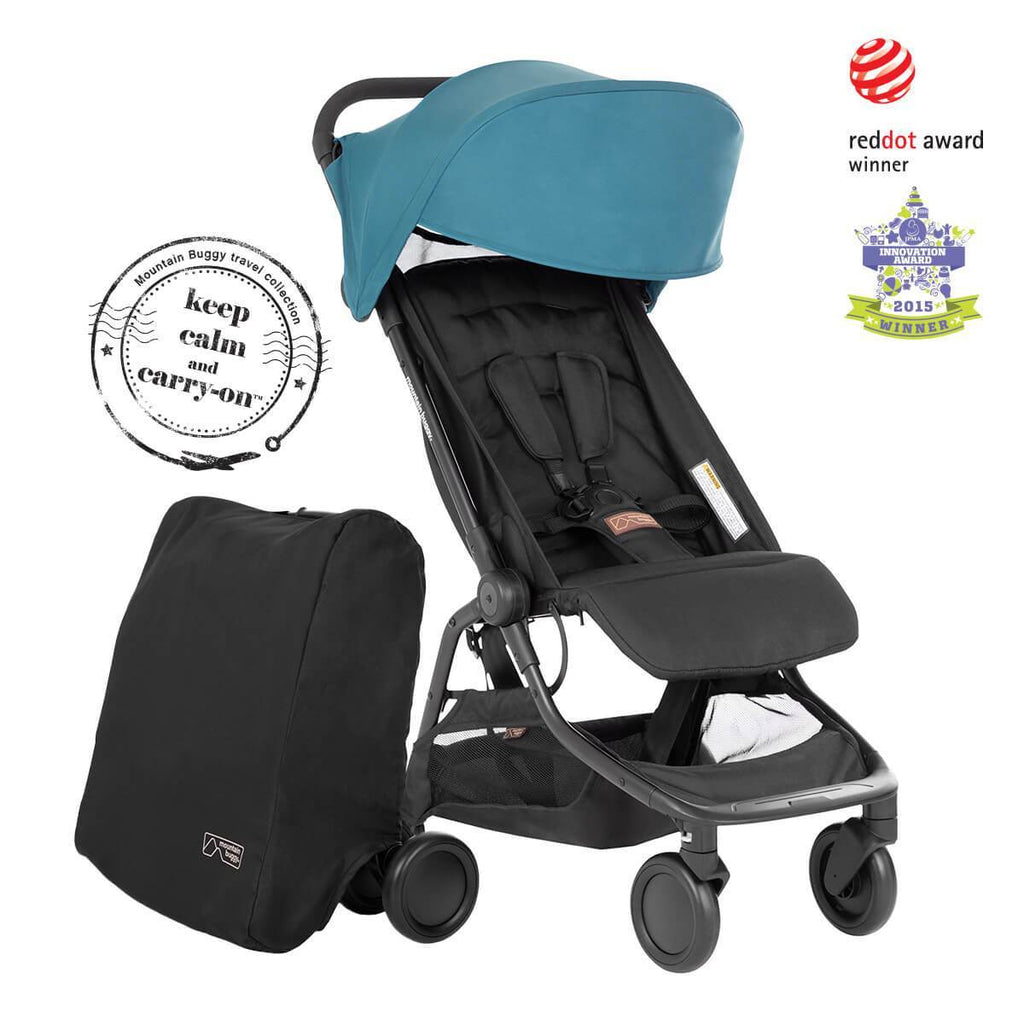 mountain buggy nano v3 2020 teal plus travel bag