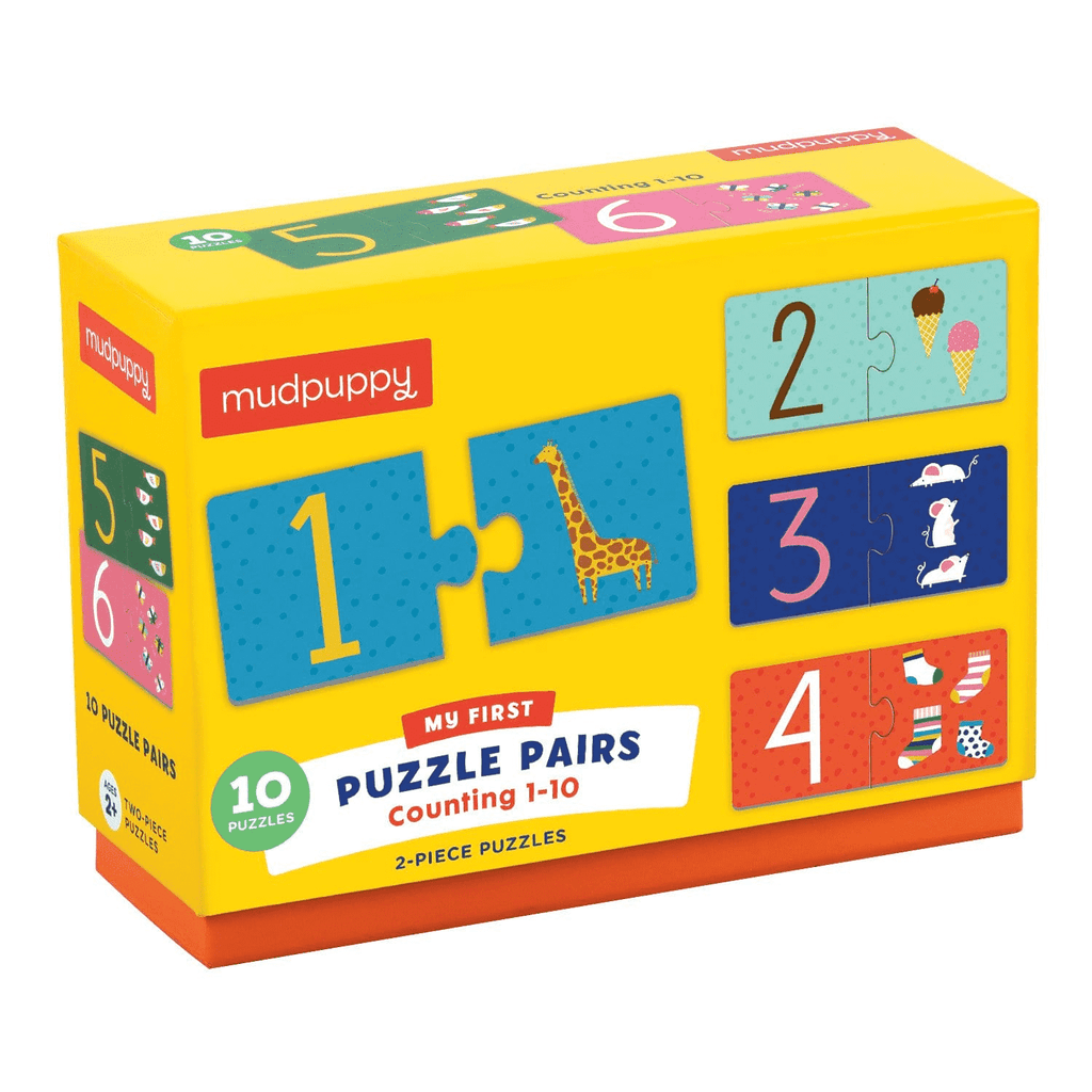 My First Puzzle Pairs - Counting 1-10