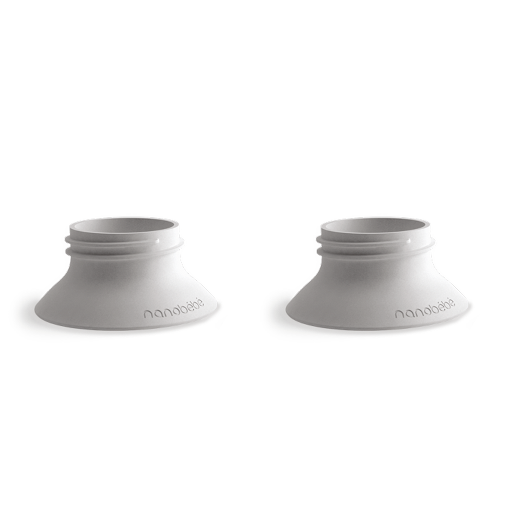 nanobebe breast pump adapters twin pack