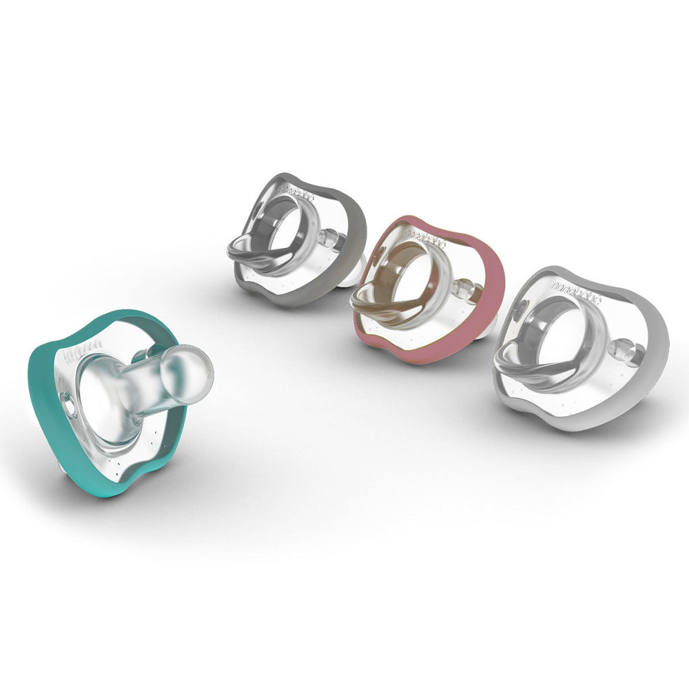 nanobebe flexy pacifier 0-3 months twin pack