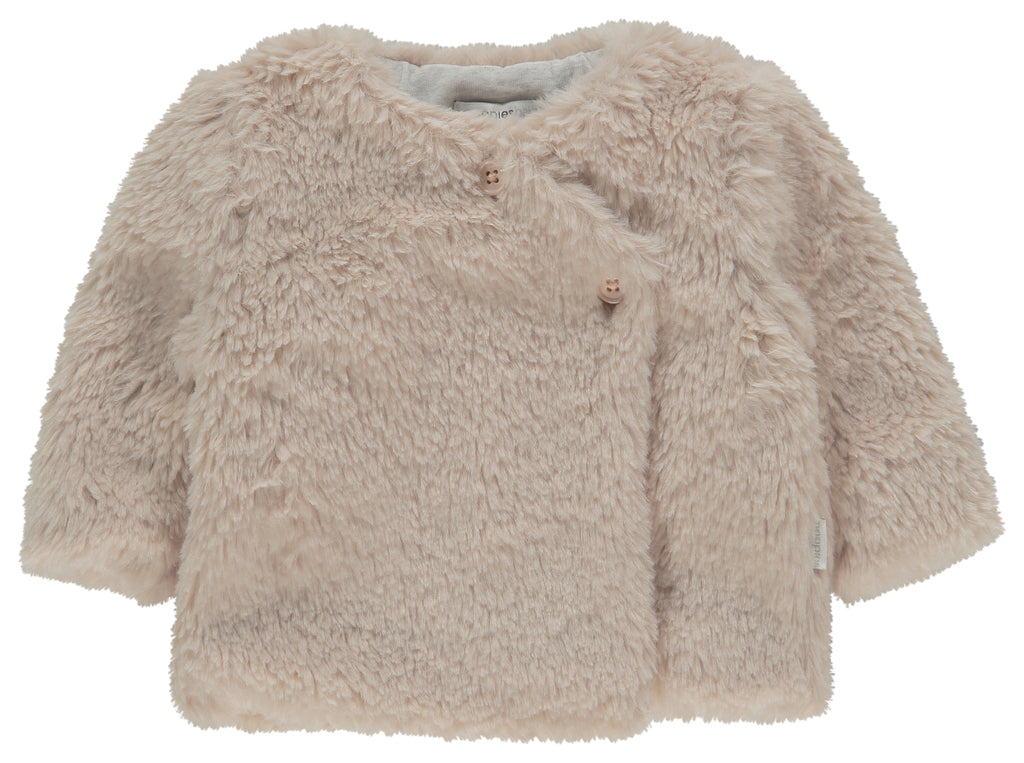 noppies cardigan corona peach blush front