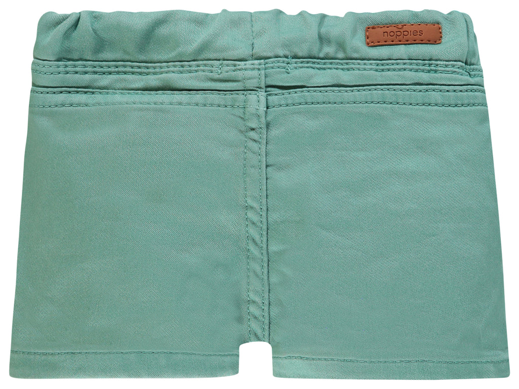 noppies denim short suffield oil green