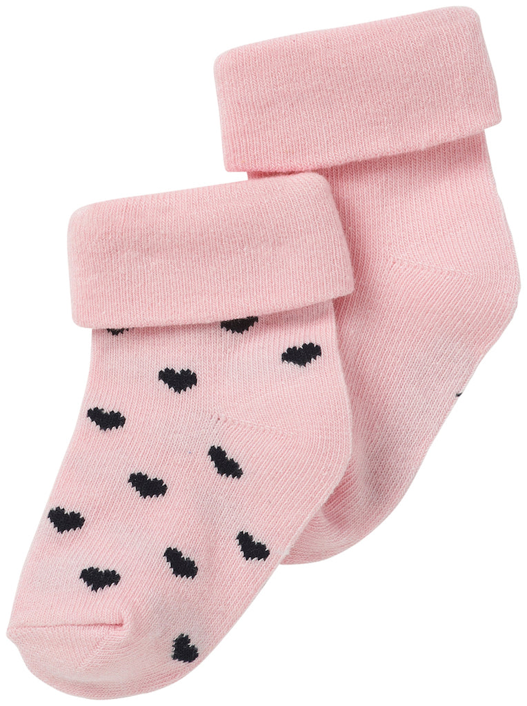 Infant Socks Naples - Light Rose (2 pairs)