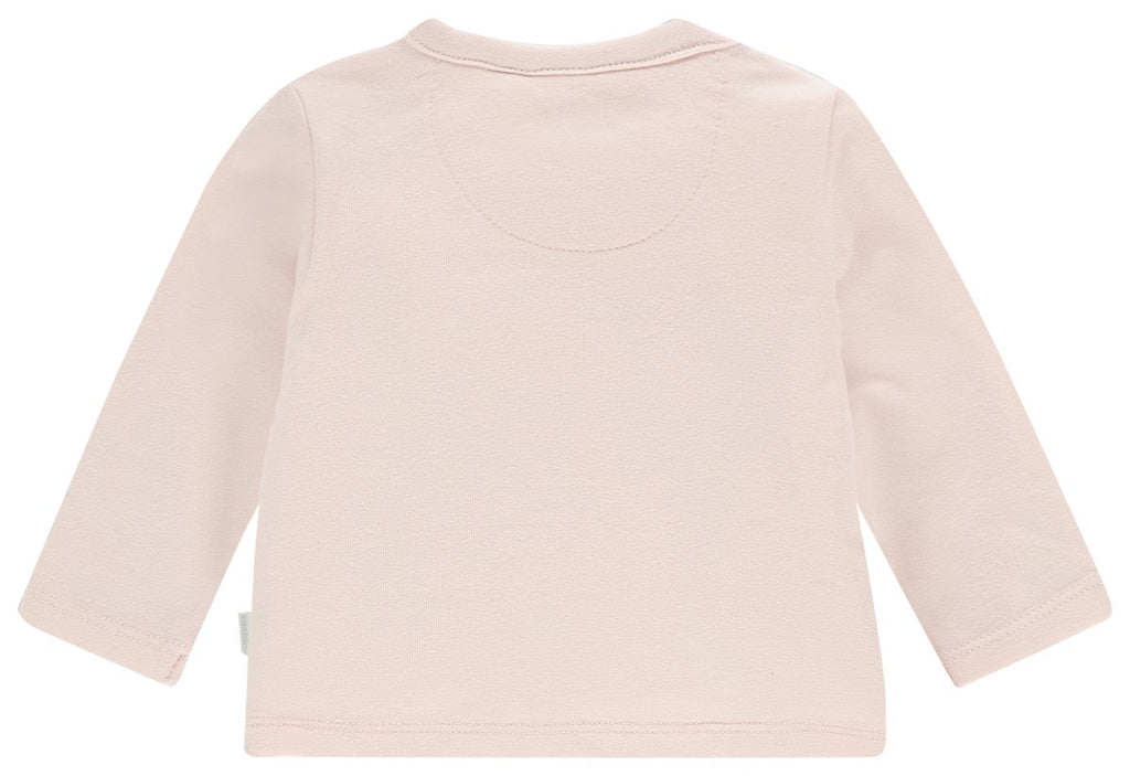noppies long sleeve tee cayce peach blush back
