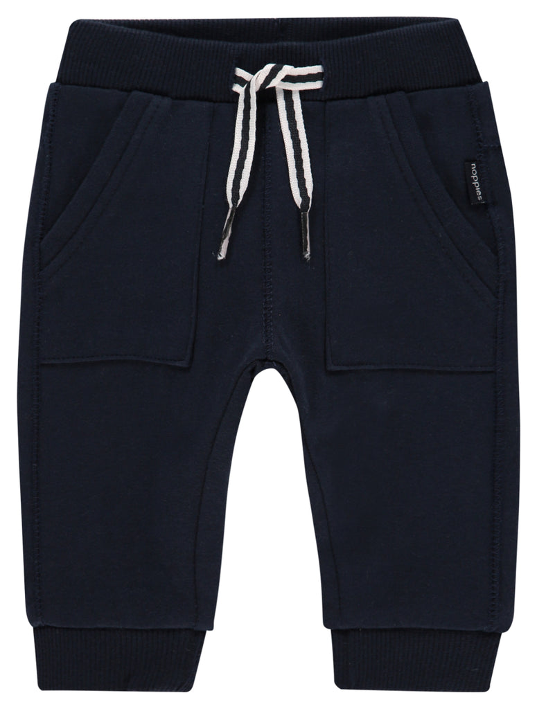 noppies sweatpant trousers ames dark sapphire front