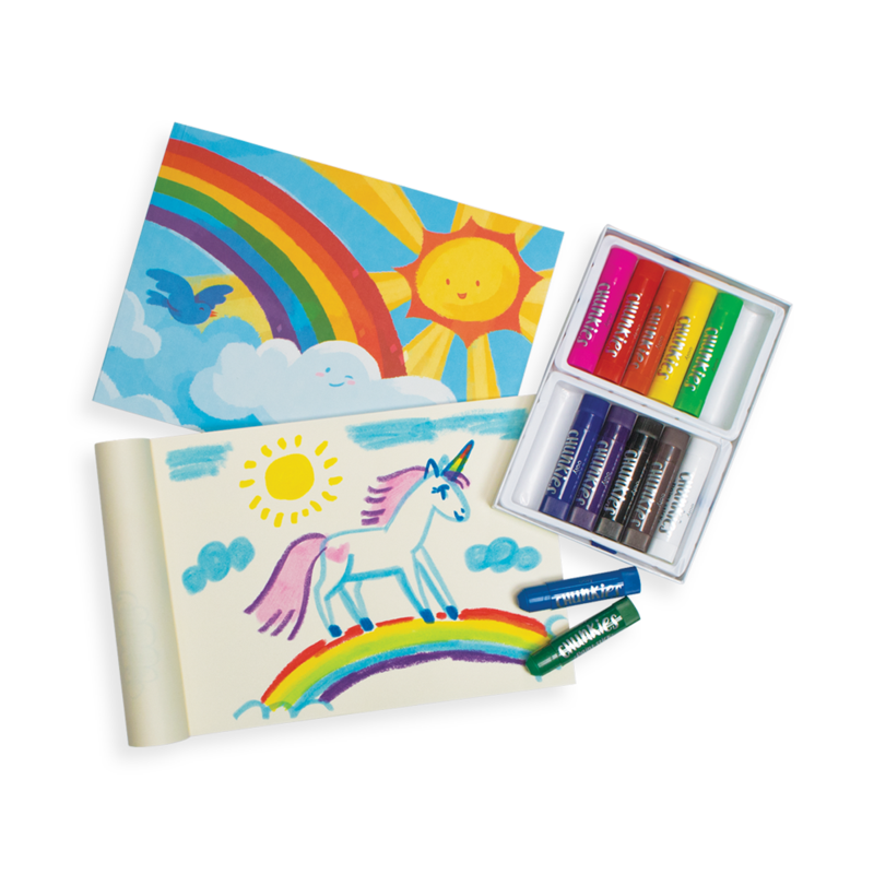 ooly budding artist paint and sketchbook gift set