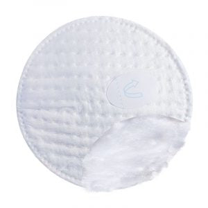 organyc organic cotton nursing pads 24ct