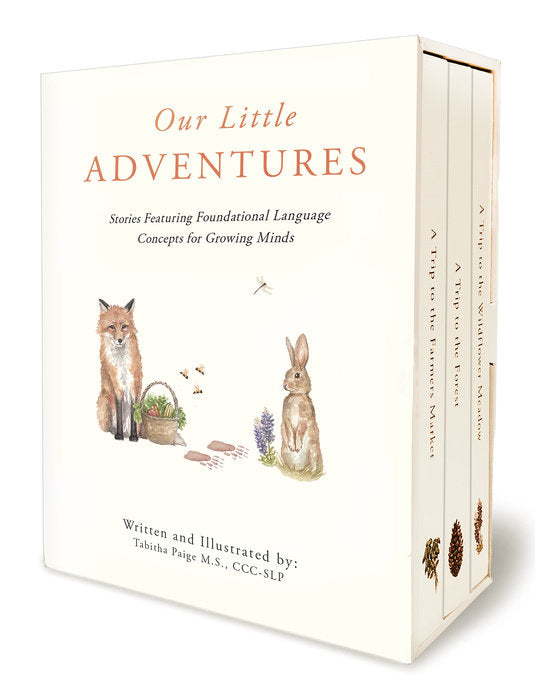 Our Little Adventures: Stories Featuring Foundational Language Concepts for Growing Minds by Tabitha Paige