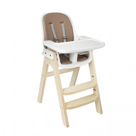 oxo tot sprout high chair birch base taupe cushion