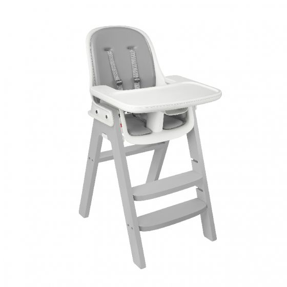 oxo tot sprout high chair grey base grey cushion