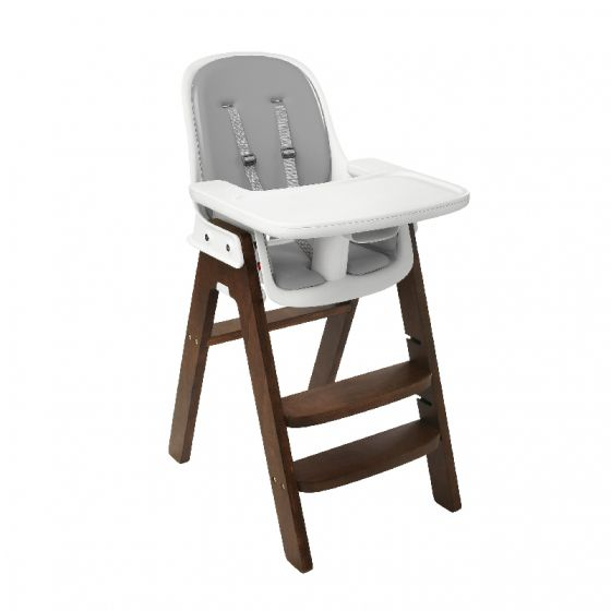 oxo tot sprout high chair walnut base grey cushion