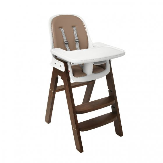 oxo tot sprout high chair walnut base taupe cushion