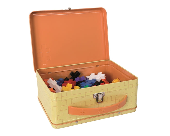 Big Basic Building Set - Metal Suitcase (70pcs)
