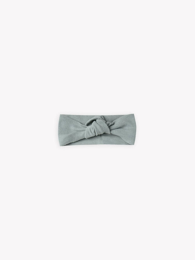 quincy mae baby turban headband ocean