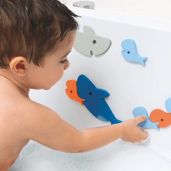 Shark Bath Puzzle (10 pcs)