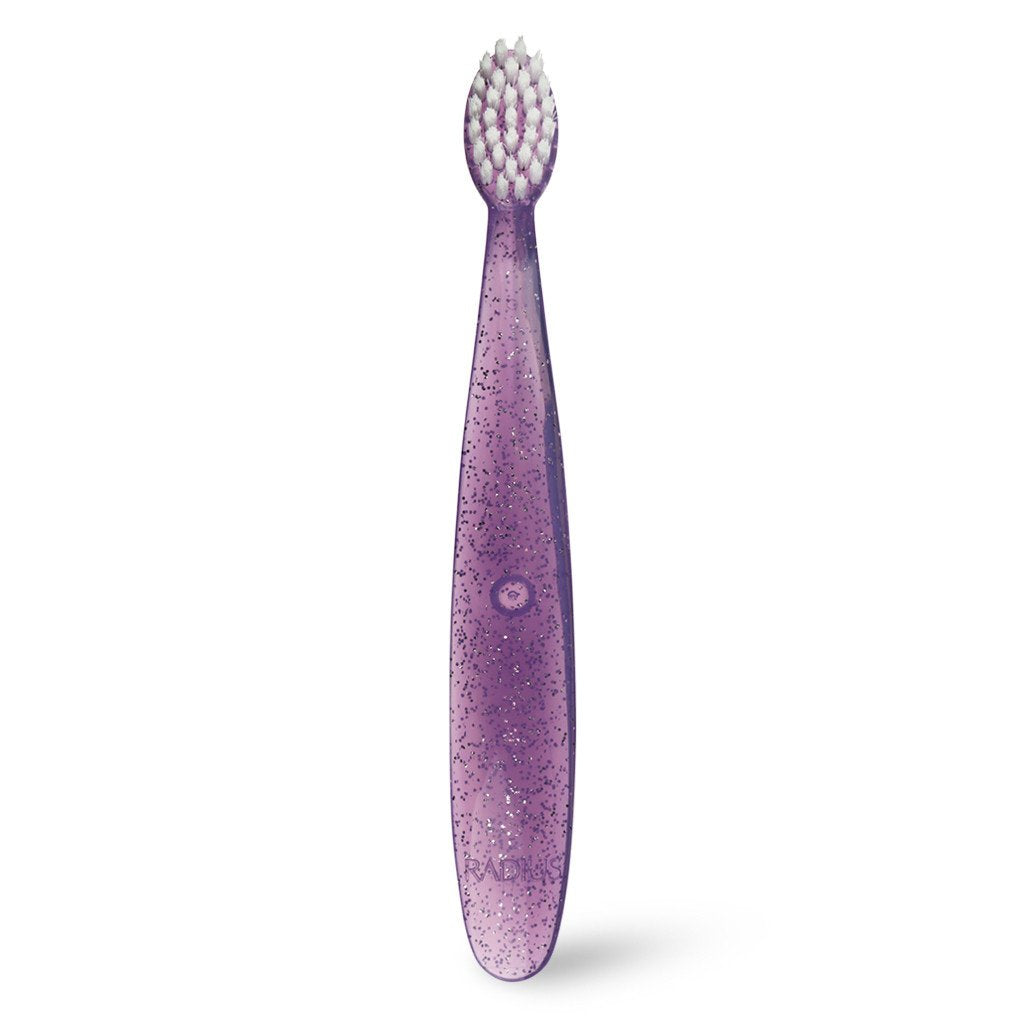 radius totz toddler toothbrush purple