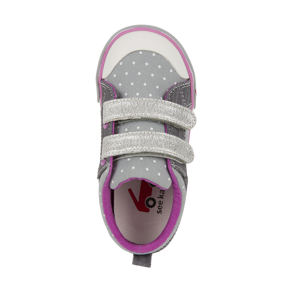 see kai run sneakers robyne grey dots
