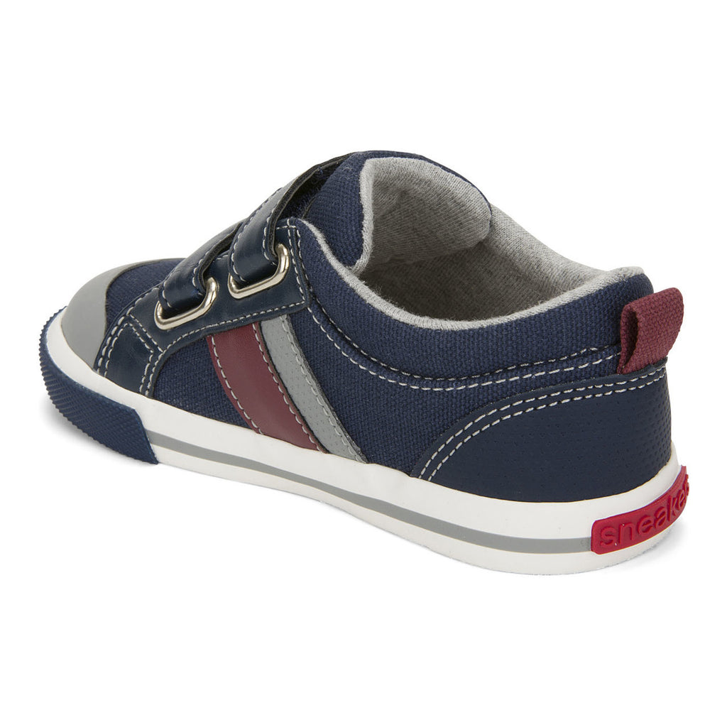 see kai run russell sneakers navy red