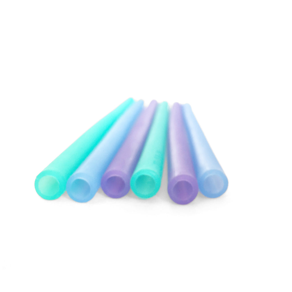 Reusable Silicone Straw (6 Pack)