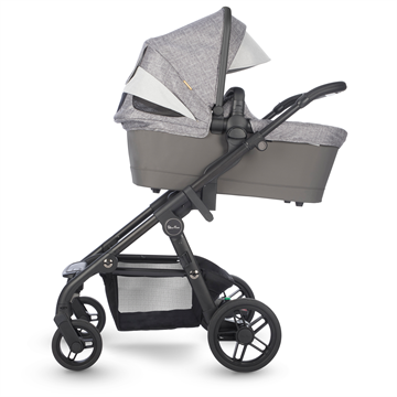 silver cross coast double stroller limestone bassinet high