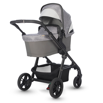 silver cross coast double stroller limestone bassinet