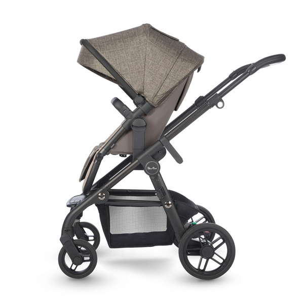 silver cross coast double stroller tundra side