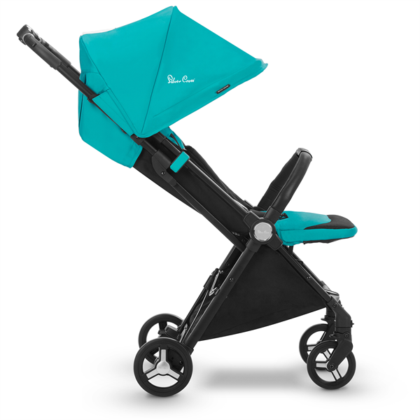 silver cross jet travel stroller bluebird side