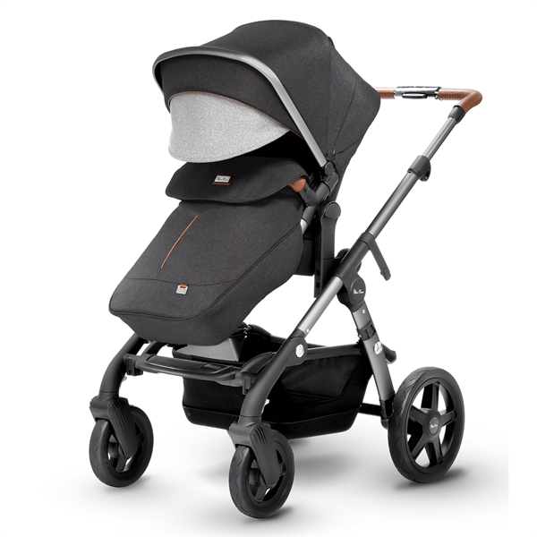 silver cross wave double stroller granite